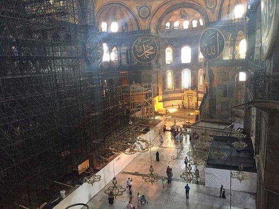 متحف/كنيسة آيا صوفيا (آيا صوفيا): view from 2 floor