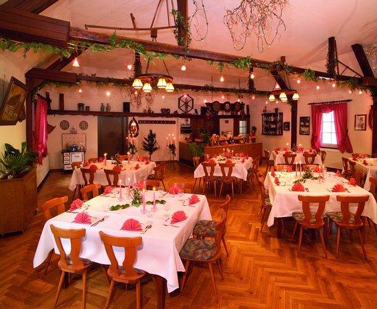 Breitenbach am Herzberg, Alemania: Gastraum