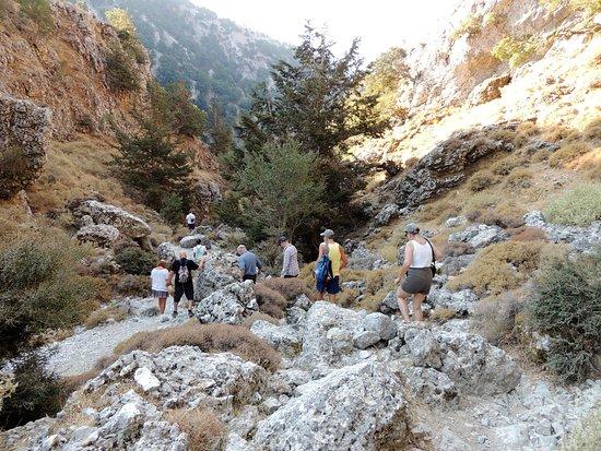 Creta, Grecia: Hier ist noch fester Boden unter den Füssen