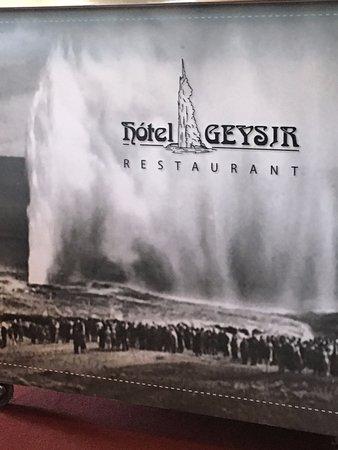 Hotel Geysir: pubblicità