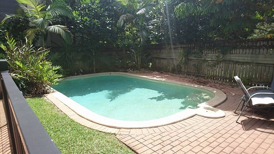 Cairns Sharehouse: Piscina da Sharehouse na 80 Martyn St, na cidade de Cairns.