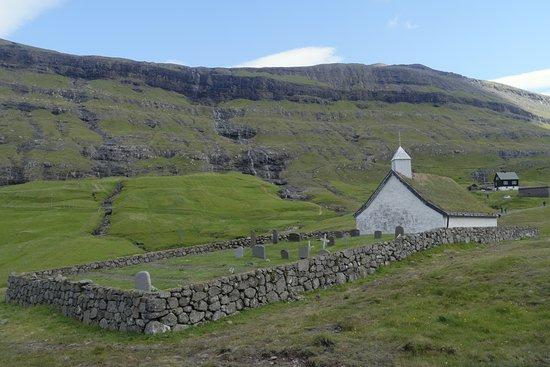 Streymoy, Faroe Islands: Saksun church