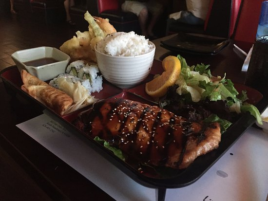 South Pasadena, CA: Salmon Teriyaki