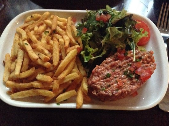l' Ebouillante: お勧めタルタルステーキ