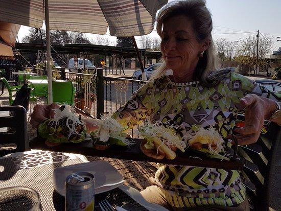Benoni, Sør-Afrika: Brushetta