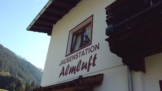 Stummerberg, Austria: Jausenstation Almluft