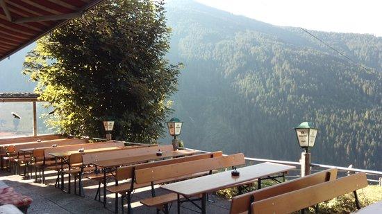 Stummerberg, Austria: Terrasse..................