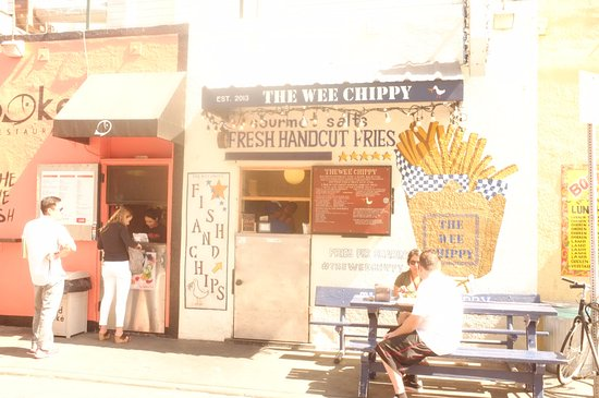 The Wee Chippy Venice California: Gourmet fish and chips