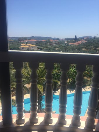 Zante Calinica Apart Hotel: View from balcony
