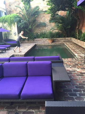 Hotel Le Marais: nice outdoor pool