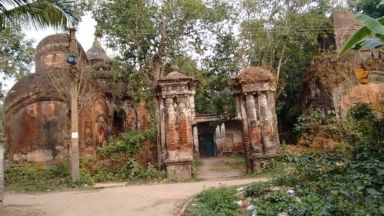 Hooghly, India: Antpur, other 5 Terra cotta temple