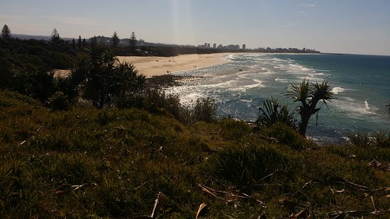 Fingal Head, Австралия: Fingal beach vue du  phare
