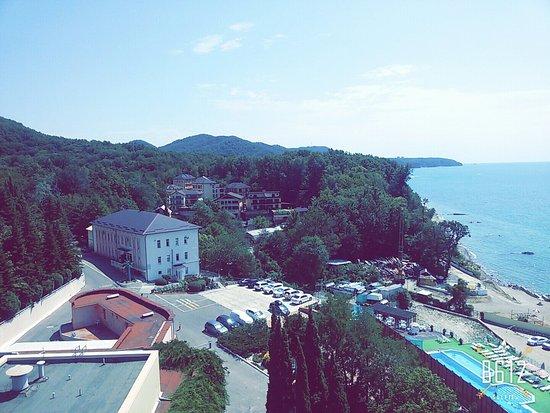 Agoy, Rusia: Вид с балкона