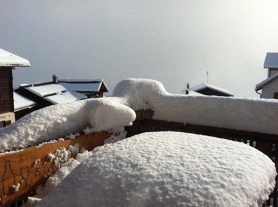 Luven, Schweiz: Der Winter kommt bestimmt