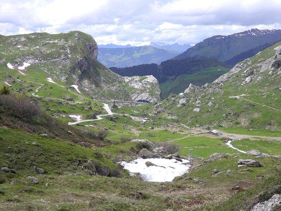 Areches, Frankrijk: Retour au lac