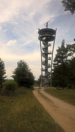 Pottenstein, Deutschland: Aussichtsturm / Sendemast