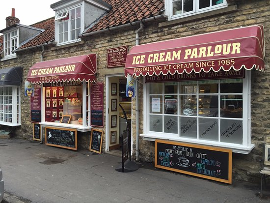 Thornton-Le-Dale, UK: Balderson's Ice Cream