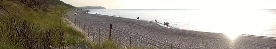 Miedzywodzie, Polen: plaża międzywodzie