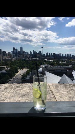 Park Hyatt Toronto: Rooftop Lounge at North Tower.