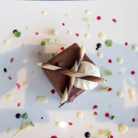 Brionne, Francja: Dessert au chocolat Cluizel