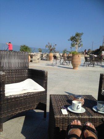 Rimondi Grand Resort & Spa: Terrace bar area