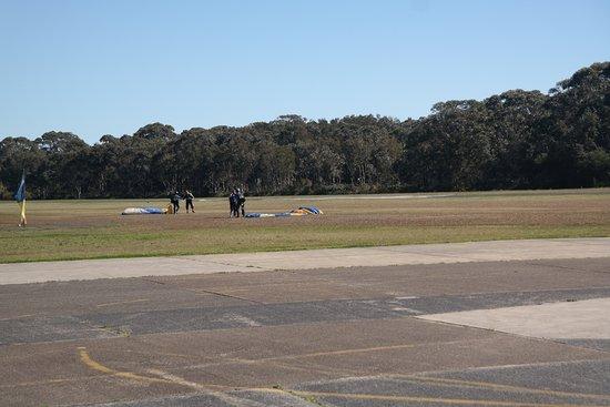 Belmont, Australien: Just landed