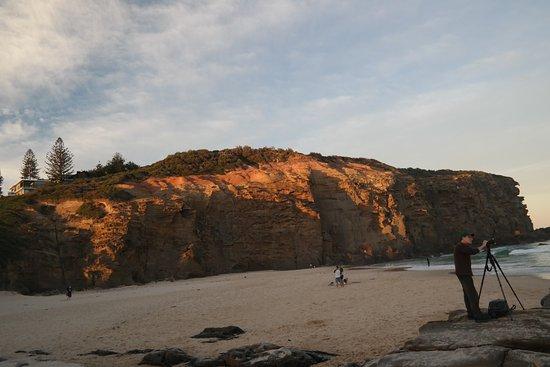 Redhead, Australia: rocks
