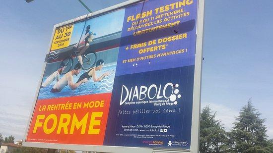 Diabolo bourg de peage frankrig anmeldelser for Piscine diabolo a bourg de peage