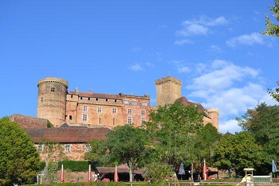 Chateau of Castelnau-Bretenoux