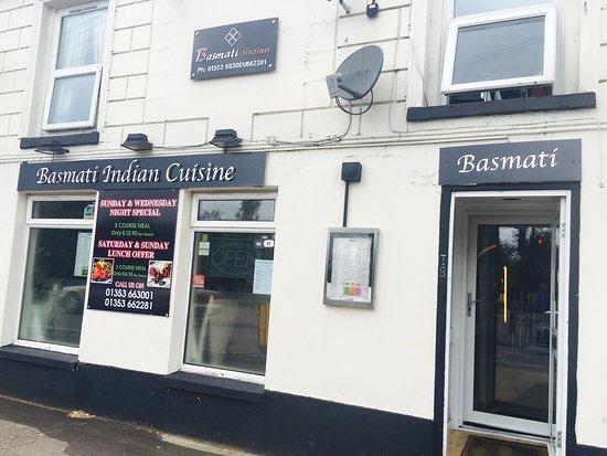 Indian Restaurant In Ely Cambridgeshire