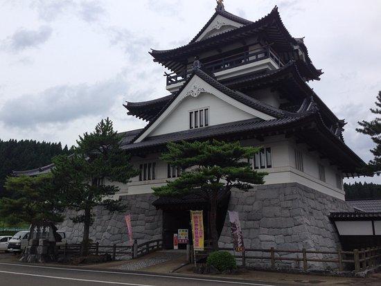 Yurihonjo, Japonya: 天鷺城正面からとったところ