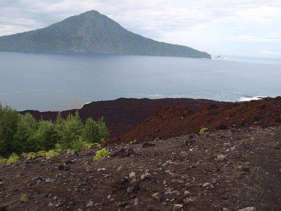 Krakatau Volcano (Krakatoa): Вид с Кракатау