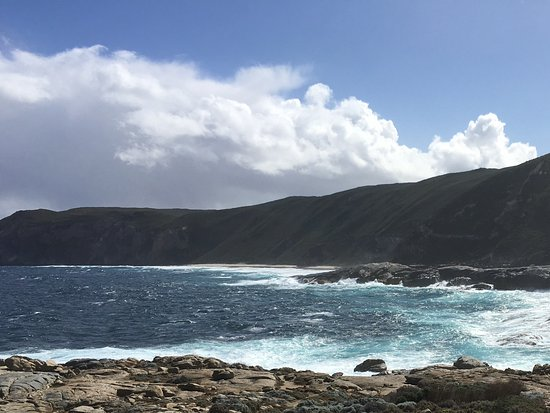 Albany, Australien: Rugged coastline from the gap.