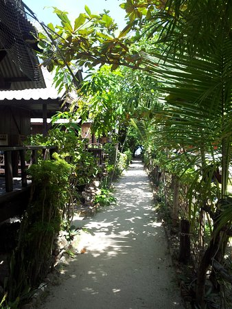Sea Salad Resort: Small pathway to the beach