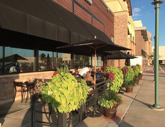 Wildfire: Sidewalk patio