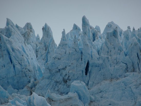 Holgate Glacier: Some of what I would call ice peaks