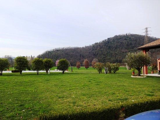 großer garten mit pool - picture of monterosso estate, teolo, Best garten ideen