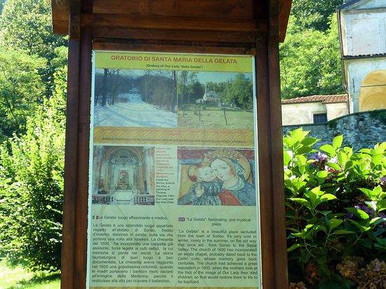 Soriso, Włochy: Cartello esplicstivo