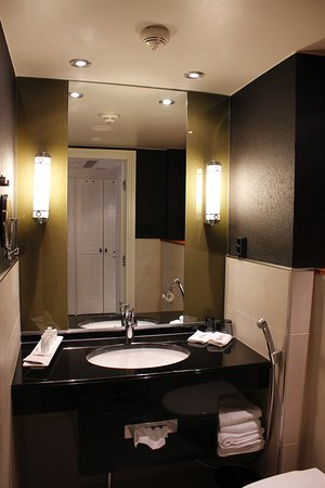 Sink Area In Standard Comfort Room Picture Of Hotel Fabian