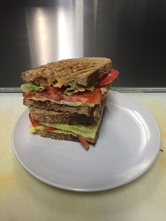 Region of Waterloo, Canada: Ultimate BLT and fresh baking.