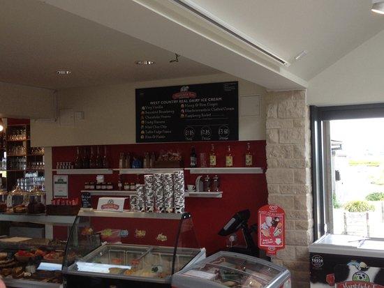 Café servery area.