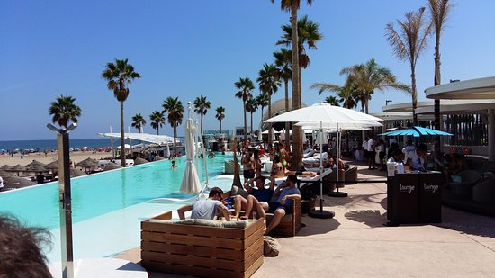 Piscina Picture Of Marina Beach Club Valencia Tripadvisor