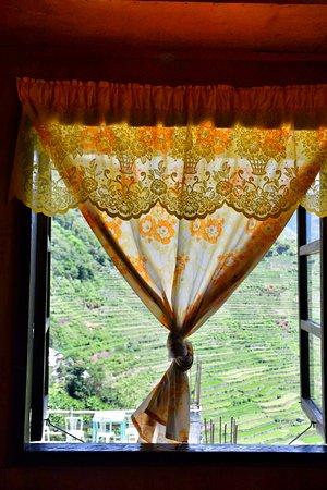 Batad, Filippinene: Da janela do quarto
