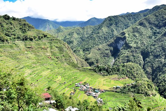 Batad, Philippines: Vista do Hotel