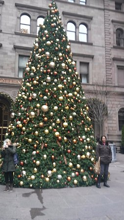 Lotte New York Palace: Christmas Tree At The Lotte NY Palace