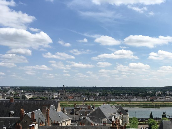 Muides sur Loire, Francia: View from the chateau