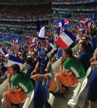 Visite Du Groupama Stadium FRA