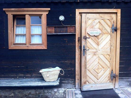 Tannerhof: Original Saunahütte