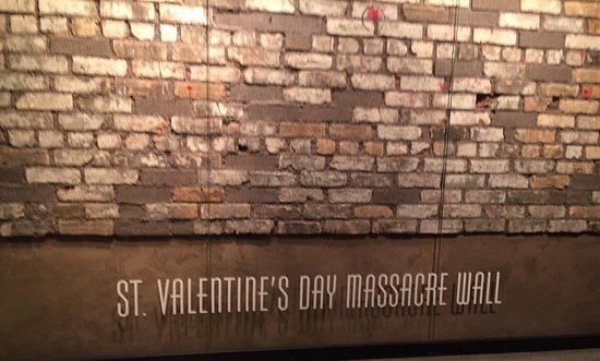 St Valentine S Day Massacre Wall The Mob Museum Las Vegas