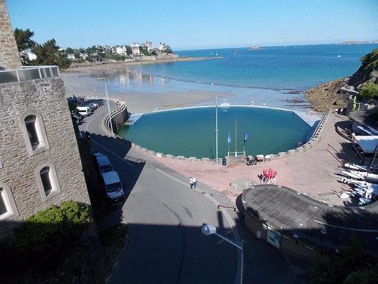 piscine d 39 eau de mer photo de pointe du moulinet dinard